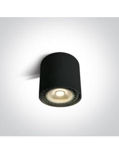 Downlight tuba natynkowa 1 punktowa Naksos ES111 czarna 12144/B - OneLight