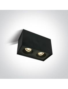Oprawa regulowana Karlowasi 2 punktowa czarna tuba 12,5 cm 12205YA/B - OneLight