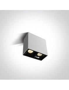 Downlight LED Paralia biały 2 punktowy 12207B/W/W - OneLight