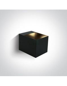 Kinkiet 2 punktowy nowoczesny Krioneri czarny 6030/B - OneLight