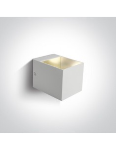 Kinkiet nowoczesny 2 punktowy Krioneri biały 6030/W - OneLight