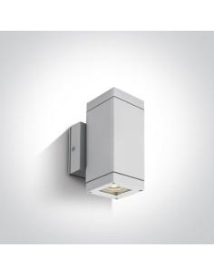 Kinkiet elewacyjny biały 2 punktowy Avoros K2 IP54 67130A/W - OneLight