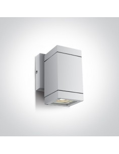 Kinkiet elewacyjny IP54 1 punktowy GU10 Avoros K1 biały 67130F/W - OneLight