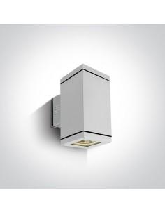 Kinkiet elewacyjny Stromi K2 biały IP54 2 punktowy 67132A/W - OneLight