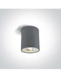 Oprawa zewnętrzna sufitowa IP54 Stromi S 1 punktowa szara 67132C/G - OneLight