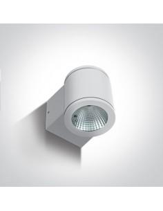 Kinkiet elewacyjny LED biały Mavrogeia 8W IP54 67138E/W/W - OneLight