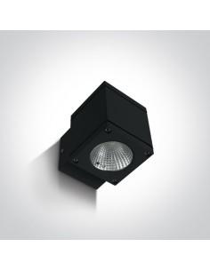Kinkiet elewacyjny LED Pavlos 6W 1 punktowy IP54 czarny 67138F/B/W - OneLight
