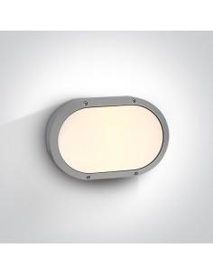 Kinkiet elewacyjny szary Paximada 2 punktowy IP54 67204B/G - OneLight