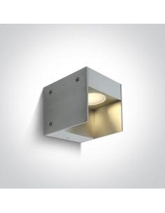Kinkiet elewacyjny LED 1W Amfiali aluminium IP54 67334/AL/W - OneLight