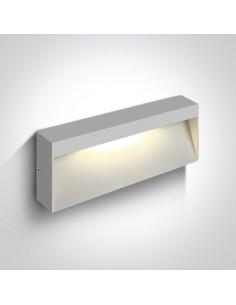 Oprawa elewacyjna LED Tsakali 3 biały 67359B/W/W - OneLight