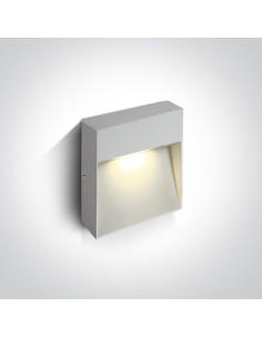 Oprawa elewacyjna LED 9W Skliri 2 biała IP54 67360A/W/W - OneLight