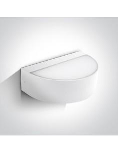 Kinkiet elewacyjny 2 punktowy LED Patima 9W biały IP54 67362B/W/W - OneLight