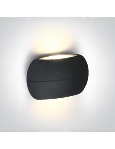 Kinkiet elewacyjny LED 6W Tarsina 2 punktowy IP54 antracyt 67378/AN/W - OneLight
