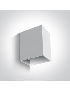 Kinkiet elewacyjny 1 punktowy LED Pellene IP54 biały 67398/W/W - OneLight