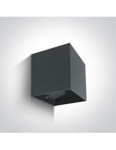 Kinkiet elewacyjny zewnętrzny LED Rozena 2 punktowy IP54 antracyt 67398C/AN/W - OneLight