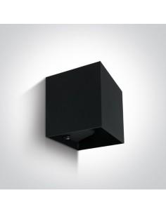 Kinkiet elewacyjny LED Rozena IP54 2 punktowy czarny 67398C/B/W - OneLight