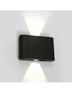 Kinkiet elewacyjny 2 punktowy LED Amigdalia 6W IP54 antracyt 67412/AN/W - OneLight