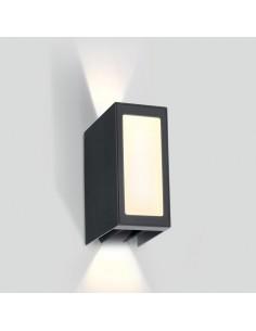 Kinkiet elewacyjny LED Zavlani 3 punktowy regulowany antracyt 67440/AN/W - OneLight