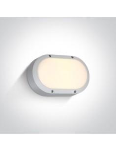 Oprawa elewacyjna LED Kentro biała IP54 67442B/W/W - OneLight