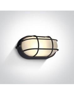 Oprawa elewacyjna LED IP54 Santomeri czarna 67444C/B/W - OneLight