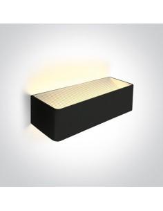 Kinkiet nowoczesny LED Geraki 3 czarny 12W  67466C/B/W - OneLight