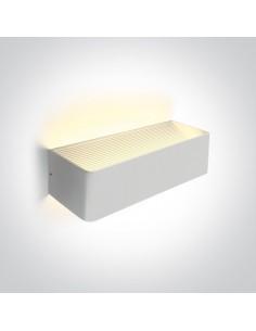 Kinkiet LED nowoczesny Geraki 3 biały 12W 67466C/W/W - OneLight
