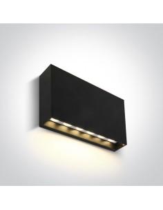Kinkiet elewacyjny 1 punktowy LED Latzio antracyt prostokątny IP65 67472A/AN/W - OneLight