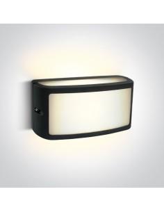 Kinkiet elewacyjny LED Strefi IP65 10W antracytowy 67474A/AN/W - OneLight