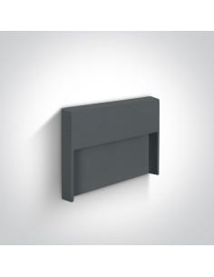 Oprawa elewacyjna LED IP65 Furni antracyt 68052/AN/W - OneLight
