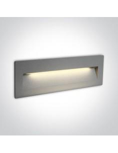 Oprawa elewacyjna LED 6W Lapas 2 szara IP65 68068C/G/W - OneLight