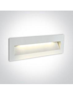 Oprawa elewacyjna LED Lapas 2 biała IP65 6W 68068C/W/W - OneLight