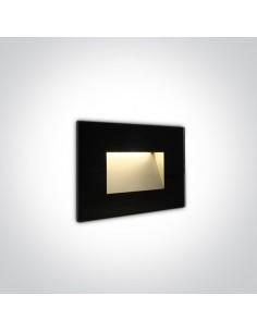 Oprawa elewacyjna LED 4W czarna Levidi IP65 68076/B/W - OneLight