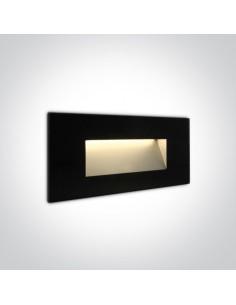 Oprawa elewacyjna czarna LED Levidi 2 5W IP65 68076A/B/W - OneLight