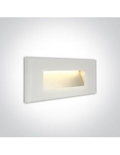 Oprawa elewacyjna LED Levidi 2 5W IP65 biała 68076A/W/W - OneLight