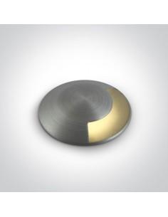 Oprawa gruntowa najazdowa LED 1W IP67 Diaselo aluminium 69042A/AL/W - OneLight