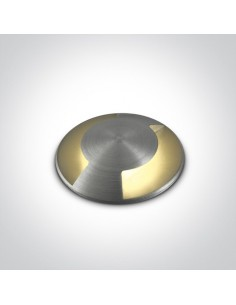 Oprawa najazdowa gruntowa LED 1W Diaselo 2 IP67 aluminium 69042B/AL/W - OneLight