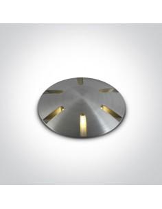 Oprawa najazdowa gruntowa LED Diaselo 6 aluminium IP67 69044/AL/W - OneLight
