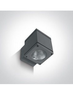 Kinkiet elewacyjny LED 6W Pavlos antracytowy IP54 67138F/AN/W - OneLight