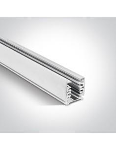 Szynoprzewód 2m kwadratowy 3-fazowy biały 40002A/W - OneLight