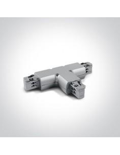 Łącznik szary do szynoprzewodu typ T 41016/G - OneLight