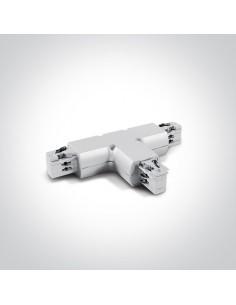 Łącznik typ T do szynoprzewodu biały 41016/W - OneLight