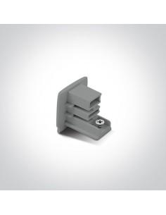 Zatyczka do szynoprzewodu zaślepka szara 41022A/G - OneLight
