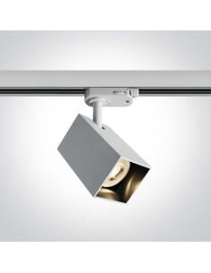 Lampa GU10 Itamos do szynoprzewodu 3-fazowego biała 65105NAT/W - OneLight