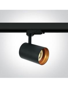 Lampa Kopseika czarna do szynoprzewodu 3-fazowego 65105NT/B - OneLight