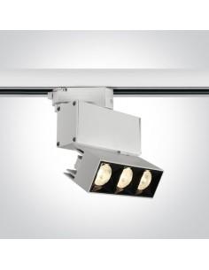 Oprawa do szynoprzewodu 3-fazowego LED Elliniko 12W biała 65306BT/W/W - OneLight