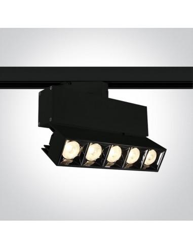 Oprawa LED 19W Iperia czarna do szynoprzewodu 3-fazowego 65506BT/B/W - OneLight
