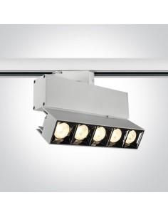 Oprawa LED Iperia 19W biała do szynoprzewodu 3-fazowego 65506BT/W/W - OneLight