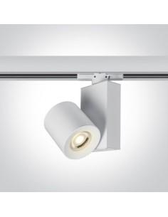 Lampa Kipseli biała GU10 do szynoprzewodu 3-fazowego 65519T/W - OneLight
