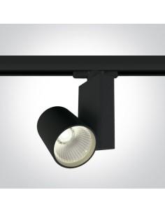Oprawa LED Bevino 15W 4000K do szynoprzewodu 3-fazowego czarna 65611NT/B/C - OneLight