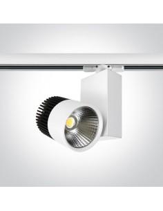 Oprawa LED Dimini 20W biała 3000K do szynoprzewodu 3-fazowego 65612T/W/W - OneLight